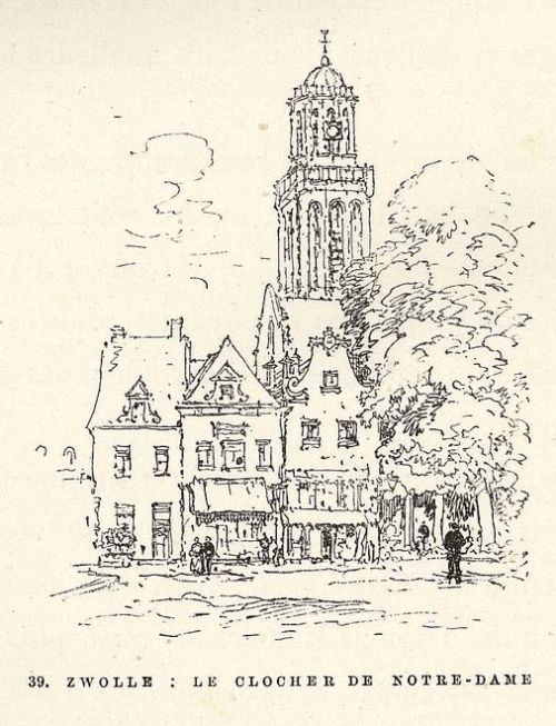 39. Zwolle_Le Clocher de Notre-Dame