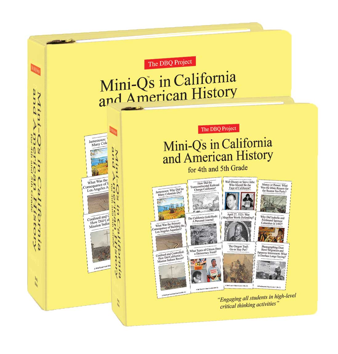 Mini Qs In California And American History For 4th And 5th