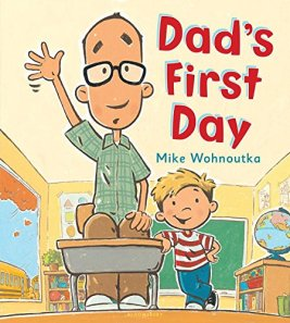 """Dad's First Day"" book cover"