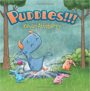 """Puddles!!!"" book cover"