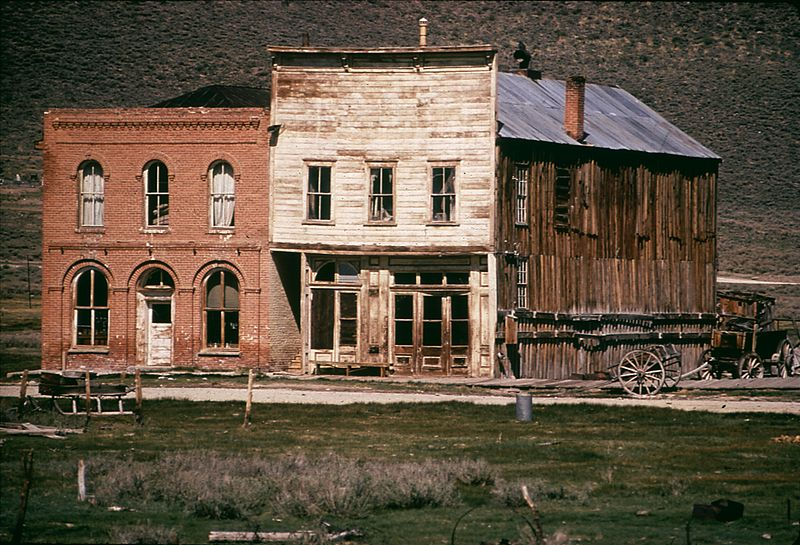photo of ghost town