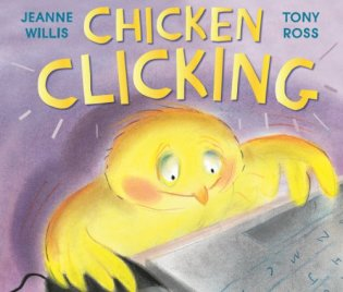 """Chicken Clicking"" book cover"