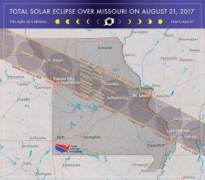 Path of Eclipse in Missouri