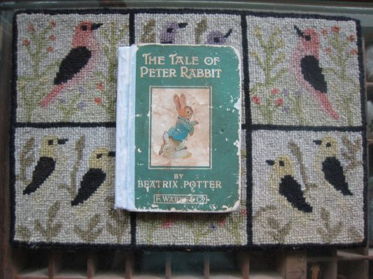 "Photo of antique ""The Tale of Peter Rabbit"" book"