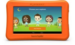 Playaway Launch Pad