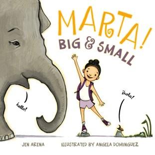 Book cover of Marta! Big & Small
