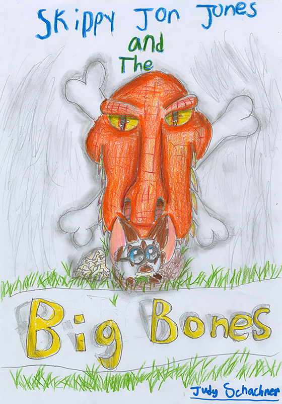 "Claire Holmes, North Elementary - ""Skippy Jon Jones and the Big Bones"" by Judy Schachner"