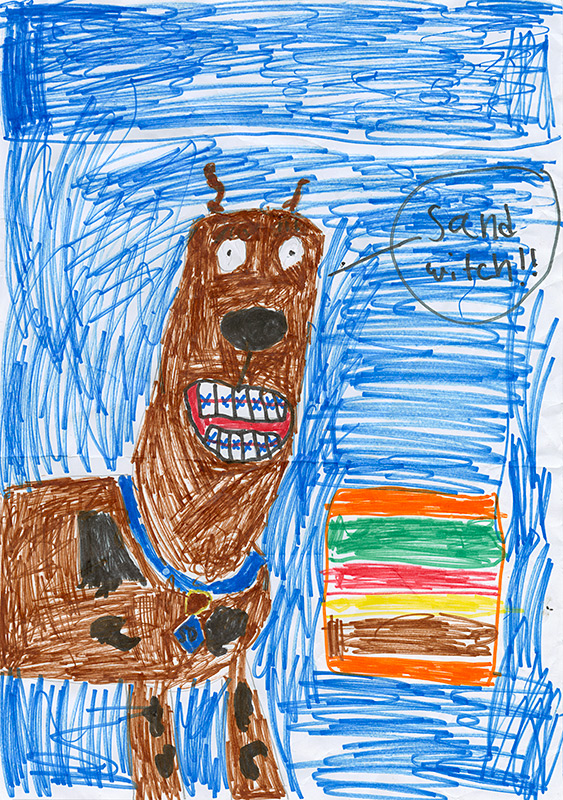 """Lyrik Gallup, Southern Boone County - """"Scooby-Doo and the Vicious Viking"""" by James Gelsey"""