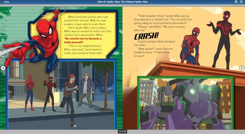 Spider-man-eBook-Screenshot