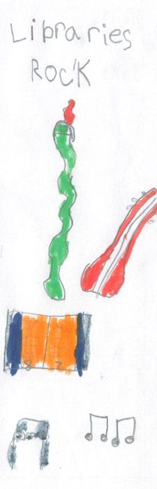 bookmark by Hudson Perkins