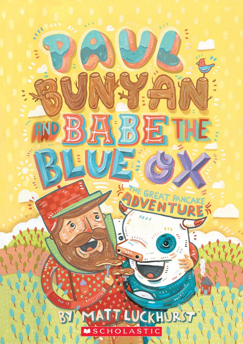 hight resolution of  paul bunyan and babe the blue ox by matt luckhurst