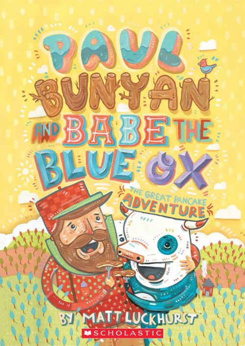 small resolution of  paul bunyan and babe the blue ox by matt luckhurst