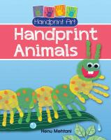 Animal Handprint book