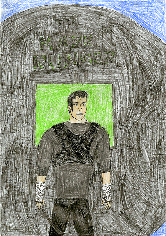 "Benjamin Haubner, Auxvasse Elementary - ""Maze Runner"" by James Dashner"