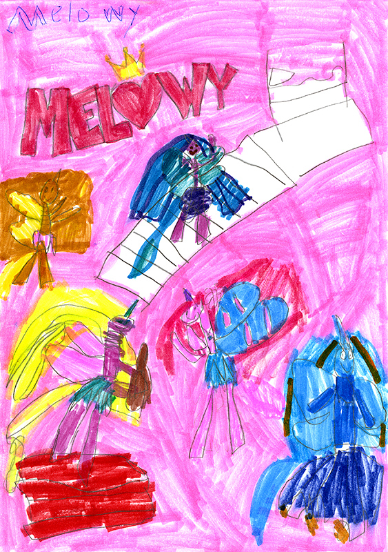 "Raelynn Danuser, South Callaway Elementary - ""Melowy"" series by Danielle Star"