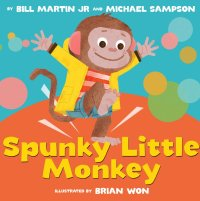 """Spunky Little Monkey"" book cover"