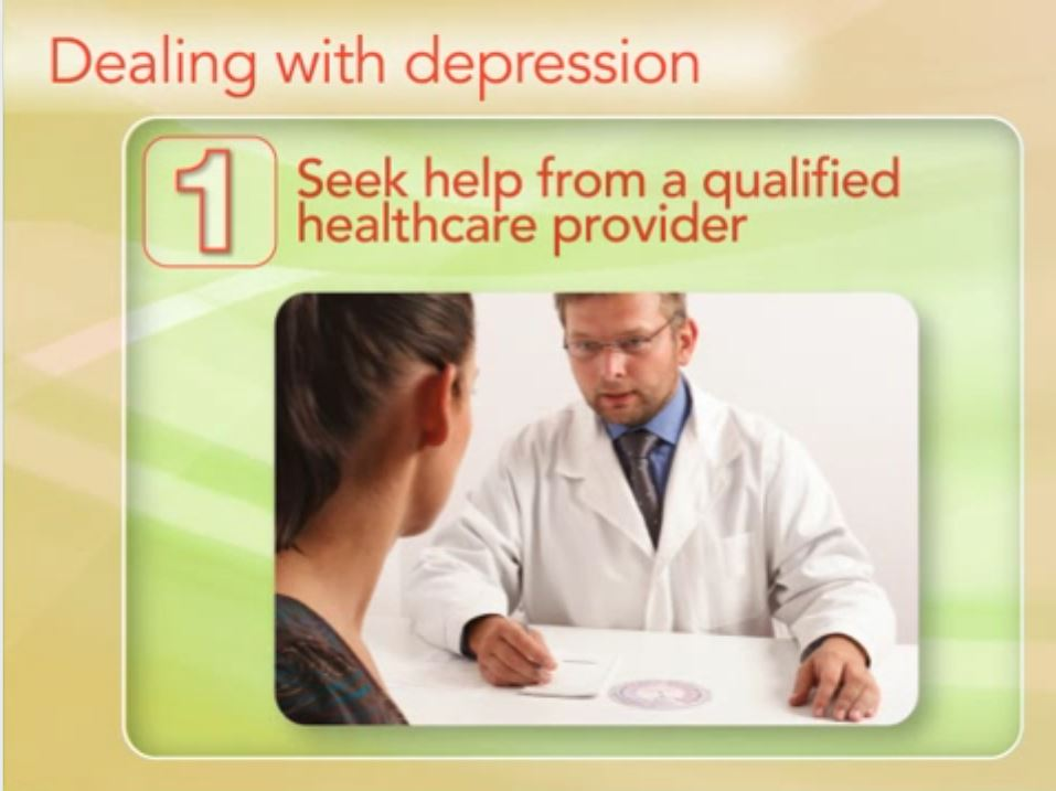 Dealing With Depression Video