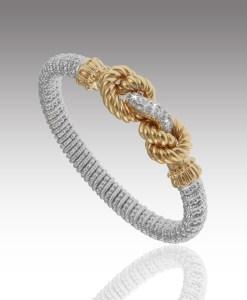 Diamond Knot Bracelet