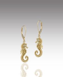 Delicate Seahorse Earrings