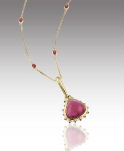 Rubelite Necklace