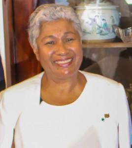 Onderwijsminister Lilian Ferrier