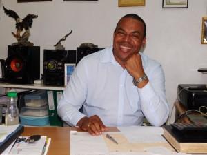 Voorzitter Steven Reyme van Alternatief 2020 in oprichting