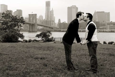 Gay Couple's Picture Misused For Anti-Gay Campaign