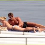 Scarlett Johansson Rocks A Bikini And A Visor?