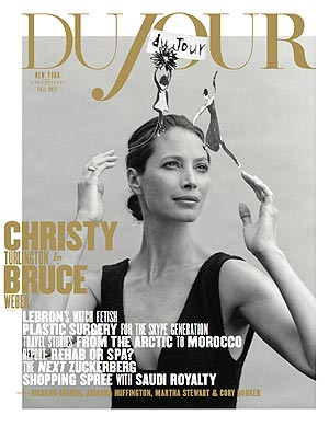 Christy Turlington's Daughter Joins Mom In Photo Shoot
