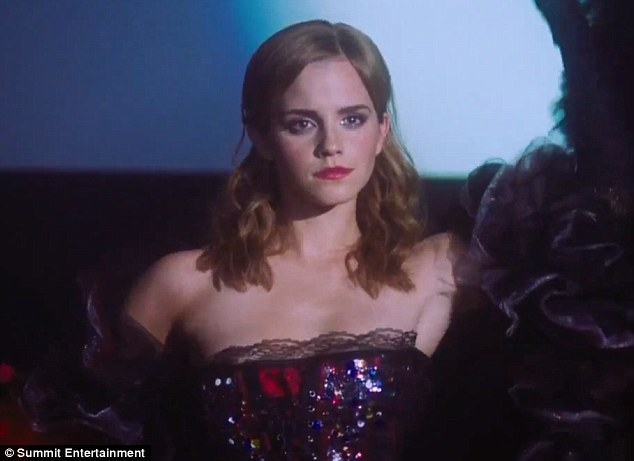 Interesting attire! Emma rocks her sequins for The Perks Of Being A Wallflower   Read more: http://www.dailymail.co.uk/tvshowbiz/article-2201419/Emma-Watson-suffers-wardrobe-malfunction-backless-dress-proves-slightly-TOO-revealing-premiere.html#ixzz26HJMCauw