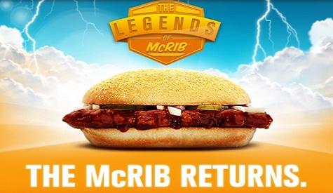 McDonald's McRib Sandwich Delayed