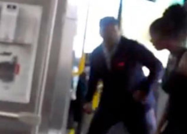 Cleveland Bus Driver Uppercut: Man Suspended For Striking Woman (VIDEO)