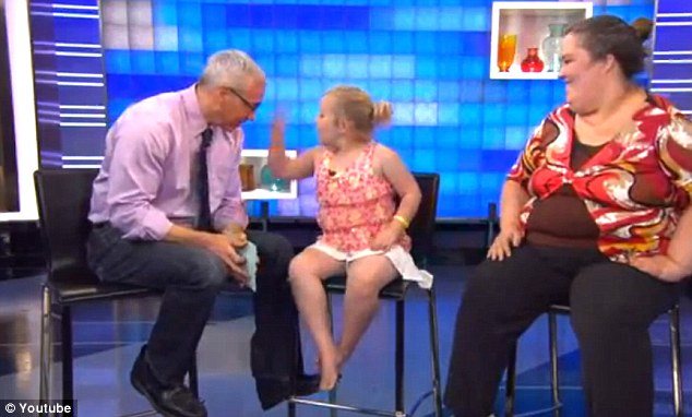 Honey-Boo-Boo-Sleep Deprived?  Alana Thompson Has At A Nap On The Dr. Drew Show
