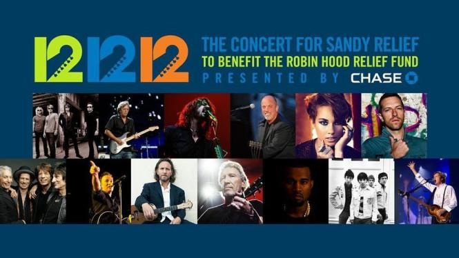 12-12-12 Concert: 2 billion to Watch Concert For Sandy