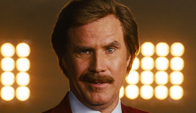 Will Ferrell's mustache raises eyebrows and questions