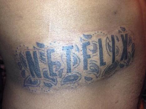 Tats So Dumb: Man Gets Netflix Tattoo