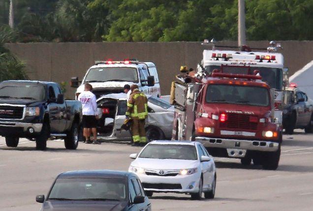 5 killed in Crash on US Highway  I-95
