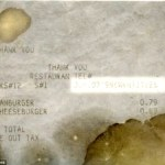 Owner: David Whipple kept the original receipt, pictured Read more: http://www.dailymail.co.uk/news/article-2313276/Man-keeps-McDonalds-burger-14-years-looks-exactly-the-day-flipped-Utah.html#ixzz2RNrH2XqT Follow us: @MailOnline on Twitter | DailyMail on Facebook