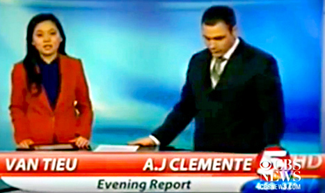 a.j. clemente fired for dropping the F bomb (VIDEO)