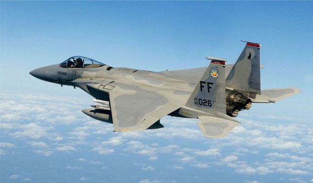 F-15 fighter jet crashes off Okinawa: Japanese Air Force rescues pilot