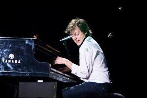 Paul McCartney gig invaded by grasshopper