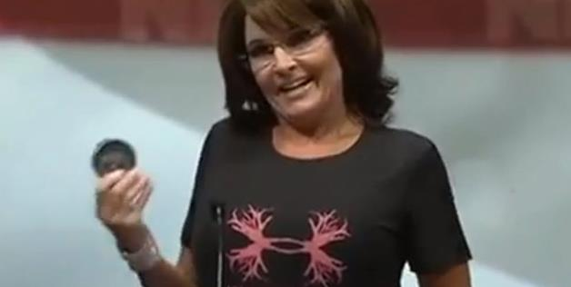 Sarah Palin: Chewing tobacco Promise At NRA Event