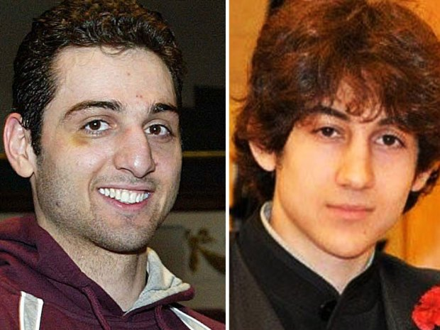 Tamerlan Tsarnaev, 26, left, and Dzhokhar Tsarnaev, 19. In a rare glimpse at Dzhokhar Tsarnaev's state of mind, he told his mother he was getting better and that he had a very good doctor, but was struggling to understand what happened, she said