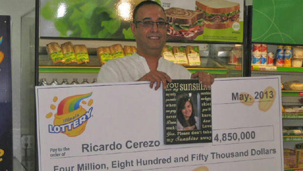 lotto winner in cookie jar