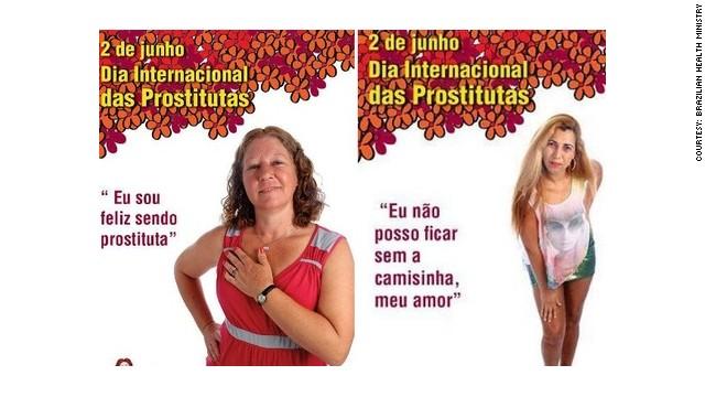Happy Prostitute Ads Yanked In Brazil