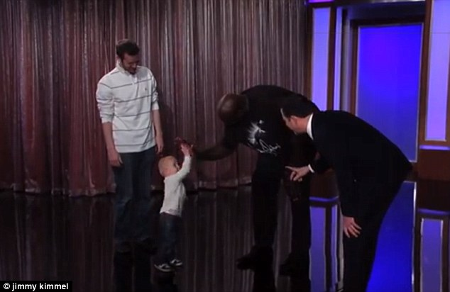 Shaq 2-year-old: All-star tyke takes on Shaquille O'Neal in trick shots