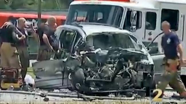 NBA car crash: Mookie Blaylock was involved in a car crash on Friday afternoon. (AP Photo)