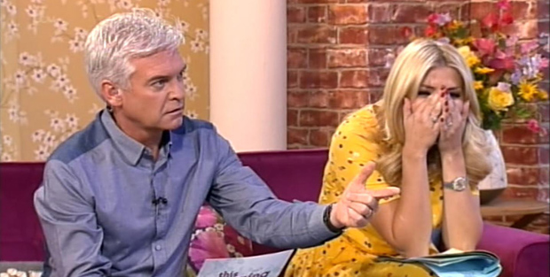 Ridicule ... Philip Schofield points out that Katie Hopkins' own daughter is called India