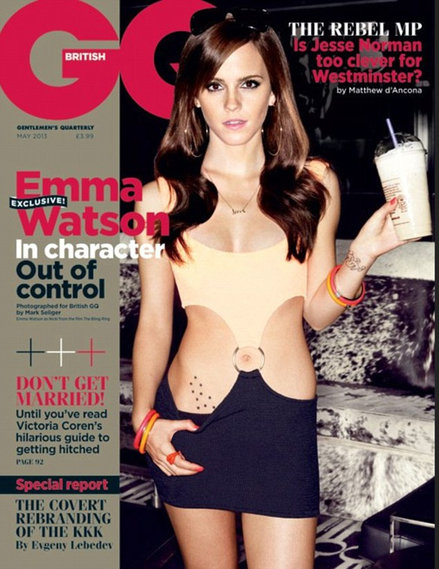 Emma Watson told to quit acting By Uni Prof