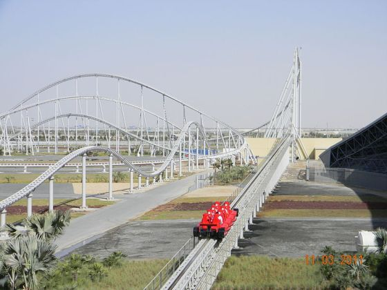 Roller Coaster Day: Formula Rossa Hits 150 mph in under 5 seconds